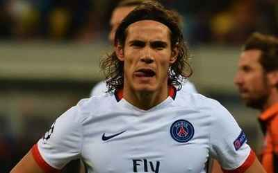 fra  paris saint-germain  uru  edinson cavani